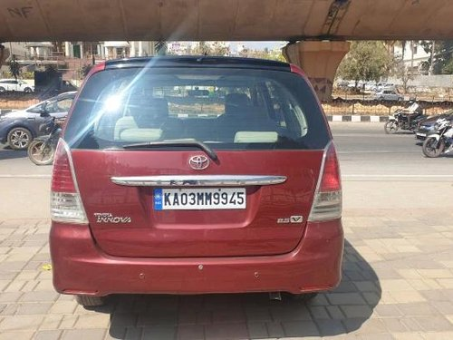 Used 2010 Toyota Innova Crysta MT for sale in Bangalore