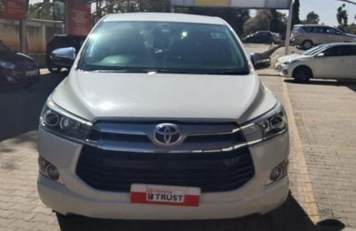 Used 2018 Toyota Innova Crysta MT for sale in Bangalore