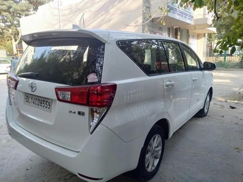 Used 2018 Toyota Innova Crysta MT for sale in Gurgaon