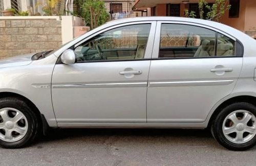 Used 2009 Hyundai Verna MT for sale in Bangalore