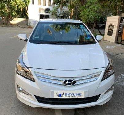 Used Hyundai Verna 2015 AT for sale in Bangalore