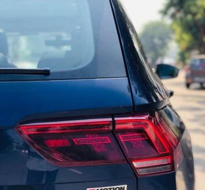 Used 2018 Volkswagen Tiguan AT for sale in Ahmedabad