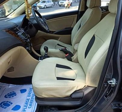 Used 2014 Hyundai Verna MT for sale in Hyderabad