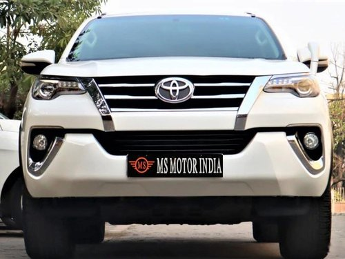 Used Toyota Fortuner 2017 MT for sale in Kolkata