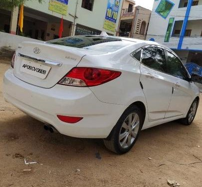 Used Hyundai Verna 1.6 SX 2013 MT for sale in Hyderabad