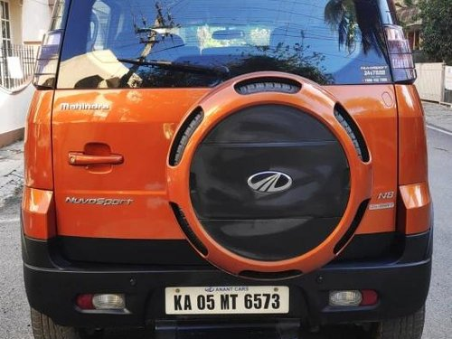 Used Mahindra NuvoSport 2016 AT for sale in Bangalore