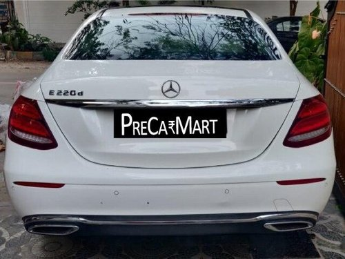 Used Mercedes Benz E Class 2018 AT for sale in Bangalore