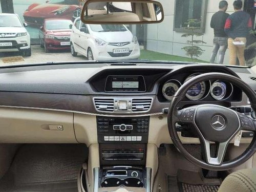 Used 2014 Mercedes Benz E Class AT for sale in Lucknow