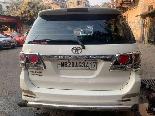 Used 2015 Toyota Fortuner MT for sale in Kolkata