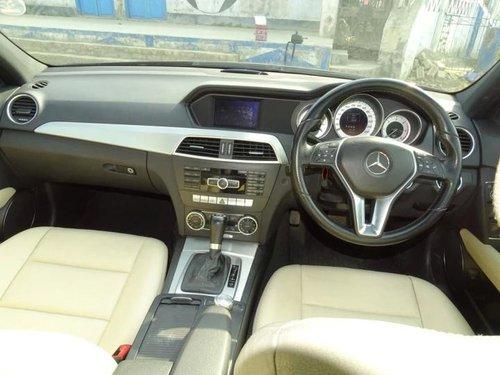 2013 Mercedes Benz C-Class C 220 CDI BE Avantgare AT in Kolkata