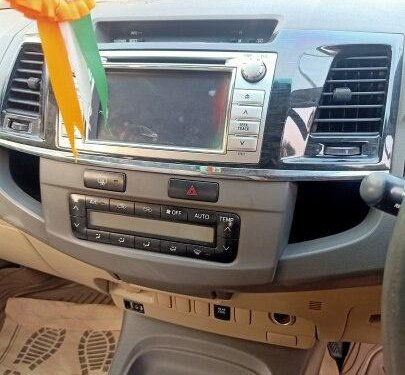 2012 Toyota Fortuner 4x4 AT for sale in Mumbai