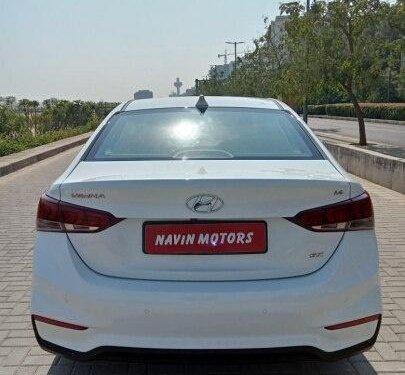 Used Hyundai Verna 2018 AT for sale in Ahmedabad