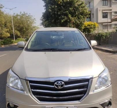 2015 Toyota Innova MT for sale in Ahmedabad