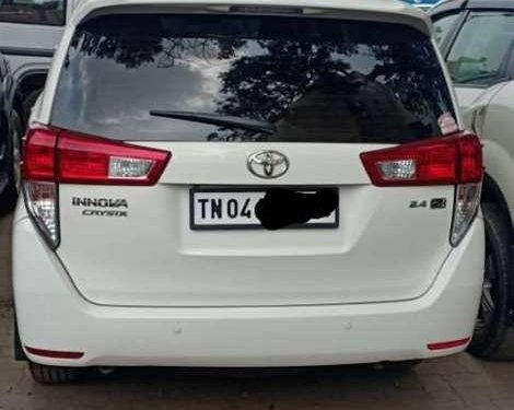 Used 2018 Toyota Innova Crysta MT for sale in Chennai