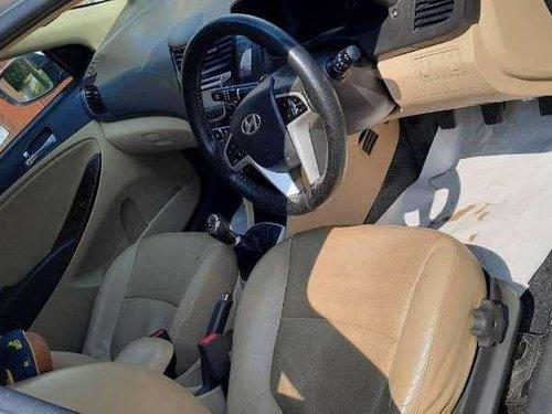 Used Hyundai Verna 2014 MT for sale in Pondicherry