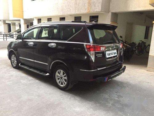 2016 Toyota Innova Crysta 2.4 G MT in Hyderabad