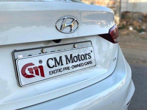 2017 Hyundai Verna 1.6 CRDI SX Option MT in Ahmedabad
