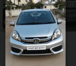 2016 Honda Amaze EX i-Dtech MT for sale in Hyderabad