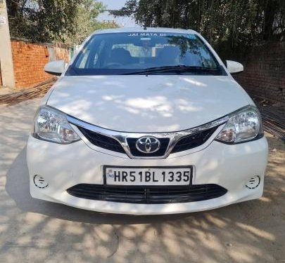 Toyota Etios G 2016 MT for sale in Faridabad