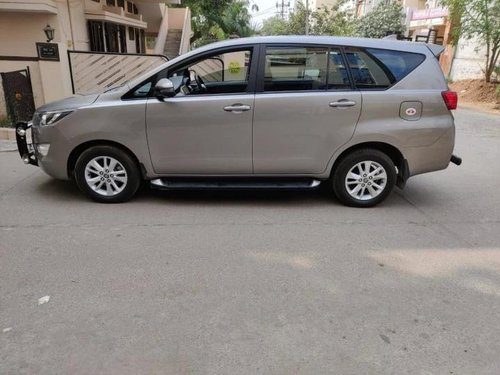 2019 Toyota Innova Crysta 2.4 G MT for sale in Hyderabad