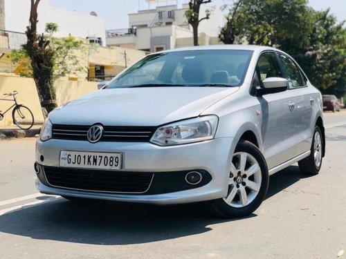 2012 Volkswagen Vento Diesel Highline MT for sale in Ahmedabad