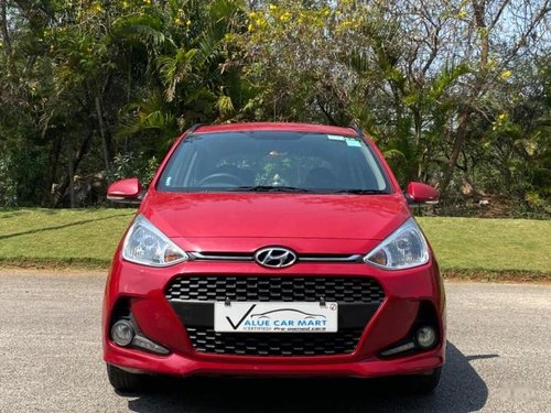 2017 Hyundai Grand i10 1.2 Kappa Sportz Option AT in Hyderabad-11