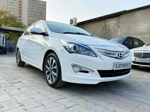 Used 2016 Hyundai Verna 1.6 CRDi SX MT for sale in Ahmedabad