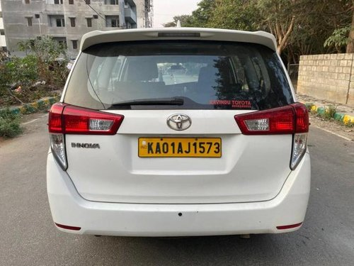 2018 Toyota Innova Crysta 2.4 GX MT for sale in Bangalore