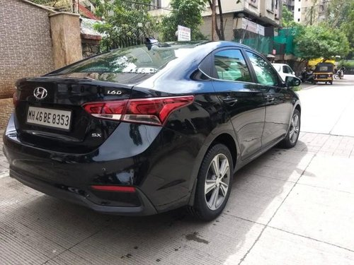 2018 Hyundai Verna CRDi 1.6 AT SX Option for sale in Pune