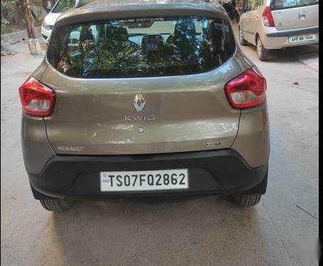 Renault Kwid 2017 AT for sale in Hyderabad