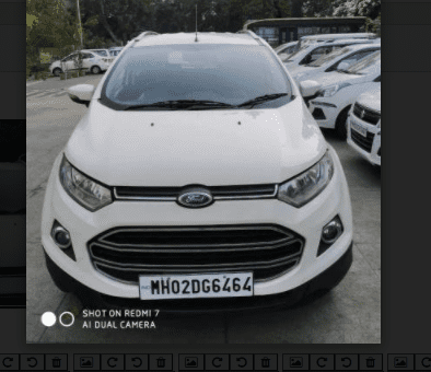 Used 2014 Ford EcoSport 1.5 DV5 MT Titanium for sale in Thane