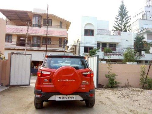Used 2017 EcoSport 1.5 Diesel Titanium Plus  for sale in Coimbatore