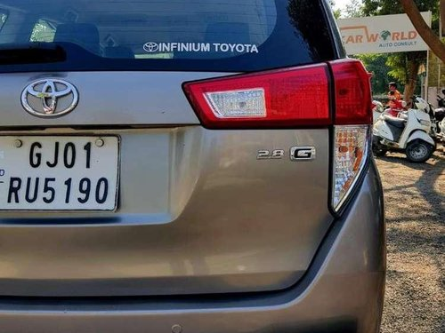 Used 2016 Innova Crysta  for sale in Ahmedabad