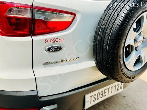 Used 2016 EcoSport 1.5 Ti VCT MT Trend  for sale in Hyderabad