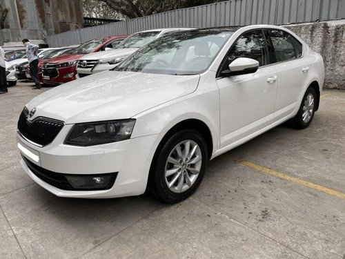 Used 2015 Octavia Elegance 2.0 TDI AT  for sale in Pune