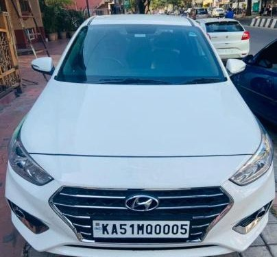 Used 2019 Verna CRDi 1.6 SX Option  for sale in Bangalore