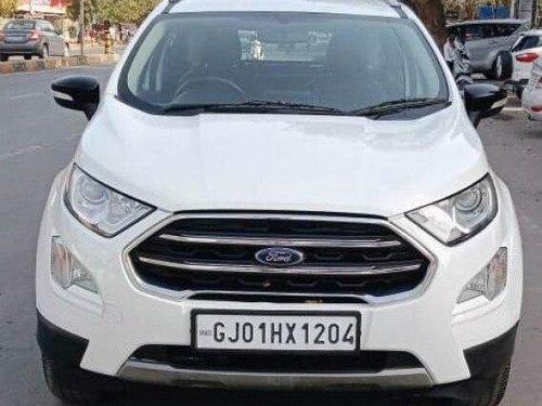 Used 2018 EcoSport 1.5 Diesel Titanium  for sale in Ahmedabad