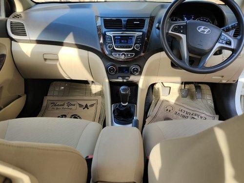 Used 2015 Hyundai 4S Fluidic Verna low price
