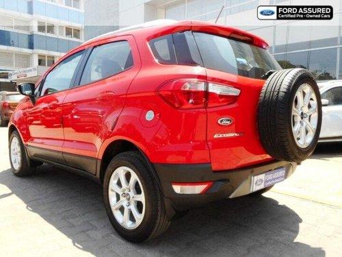 Used 2018 EcoSport Titanium Plus AT  for sale in Chennai