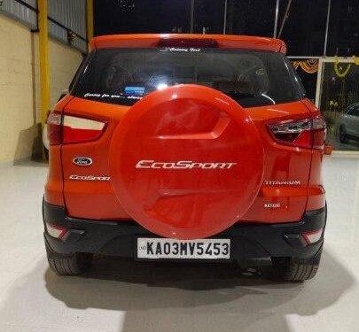 Used 2015 EcoSport 1.5 TDCi Titanium  for sale in Bangalore