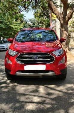 Used 2018 EcoSport 1.5 Diesel Titanium  for sale in Bangalore