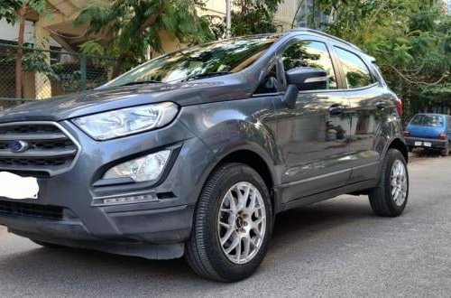 Used 2019 EcoSport 1.5 Petrol Trend Plus AT  for sale in Bangalore