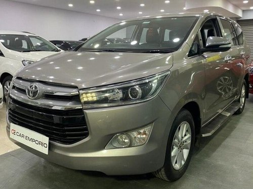 Used 2017 Innova Crysta 2.4 ZX MT  for sale in Hyderabad