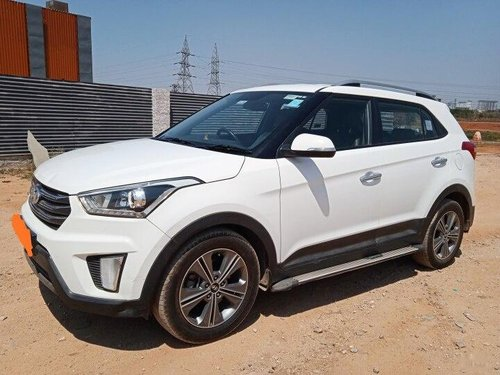Used 2017 Creta 1.6 CRDi SX Option  for sale in Hyderabad