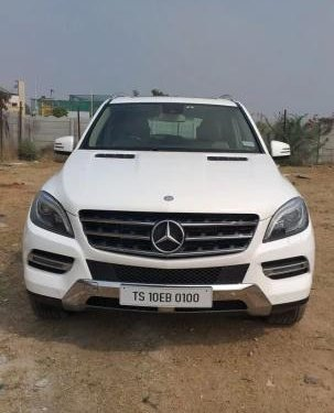 Used 2014 M Class ML 250 CDI  for sale in Hyderabad