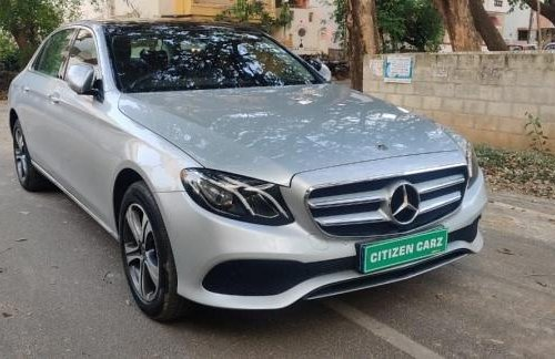 Used 2019 E Class  for sale in Bangalore