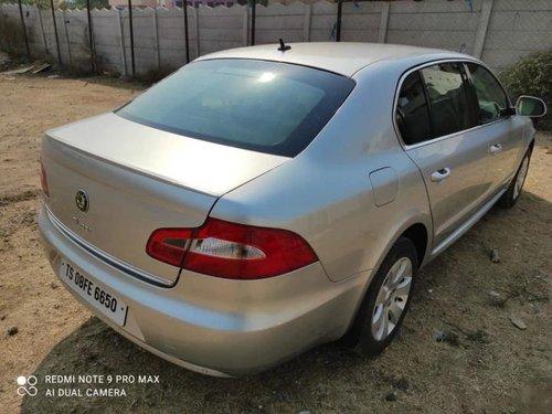 Used 2010 Superb Elegance 2.0 TDI CR AT  for sale in Hyderabad