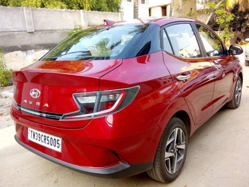 Used 2020 Aura SX Plus Turbo  for sale in Coimbatore