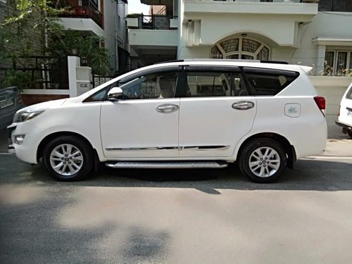 Used 2017 Innova Crysta 2.4 VX MT 8S  for sale in Bangalore