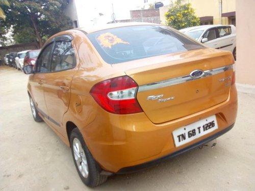 Used 2016 Figo Aspire 1.5 TDCi Titanium  for sale in Coimbatore